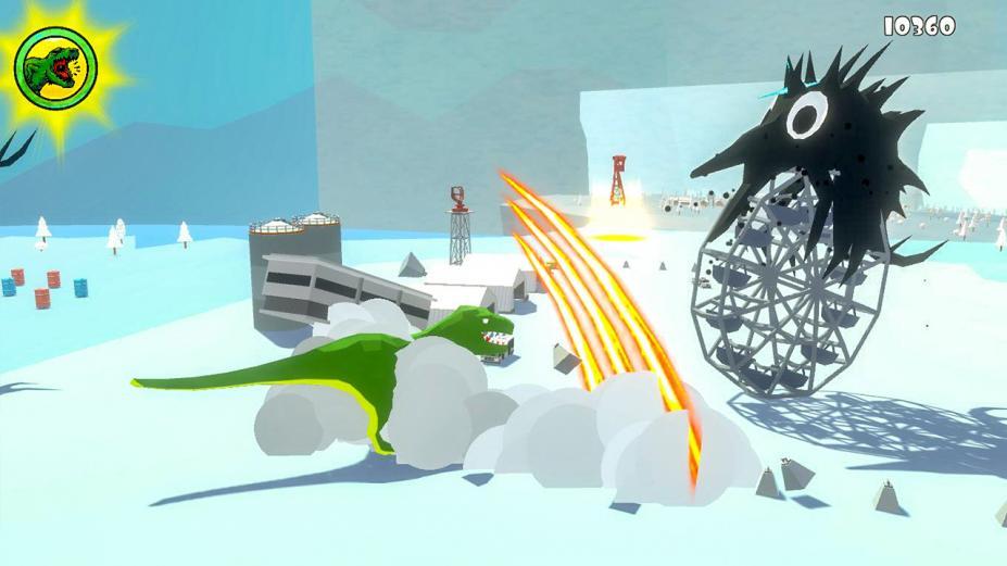 《咆哮!狂怒霸王龙历险记》游戏截图
