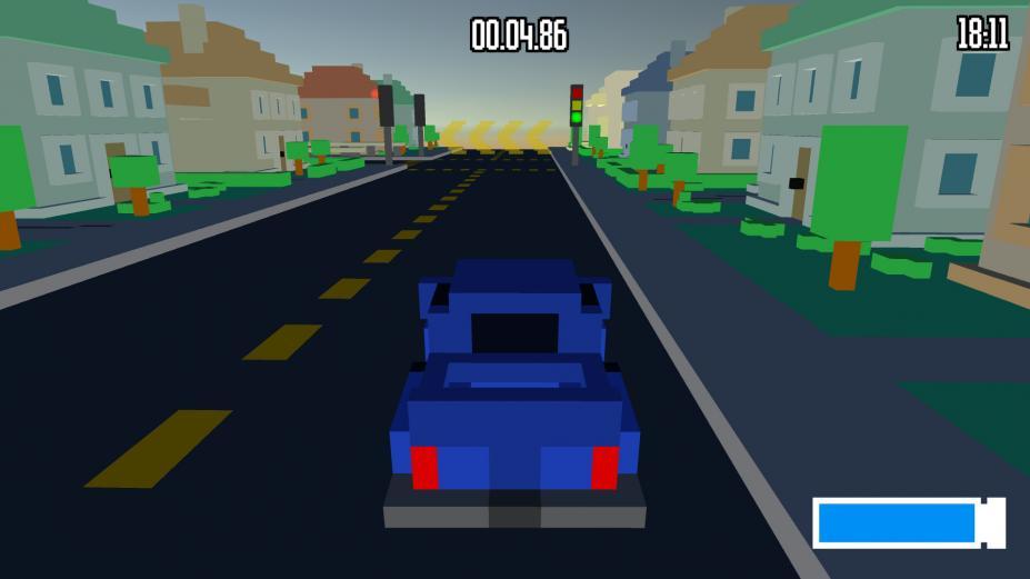 《体素赛车》游戏截图