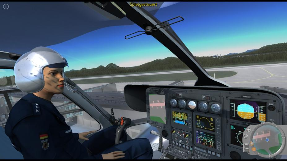 《警用直升机模拟》游戏截图