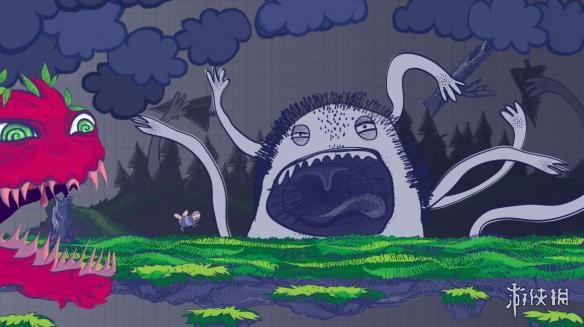 《逃离涂鸦之地》游戏截图
