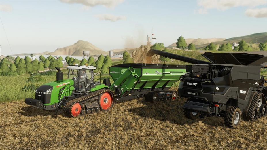 《模拟农场19》游戏截图