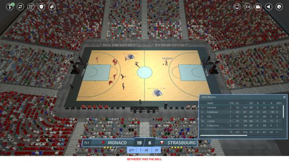 《职业篮球经理2019》游戏截图
