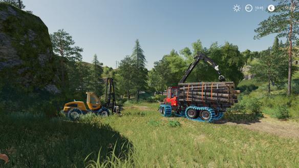 《模拟农场19》游戏截图-3