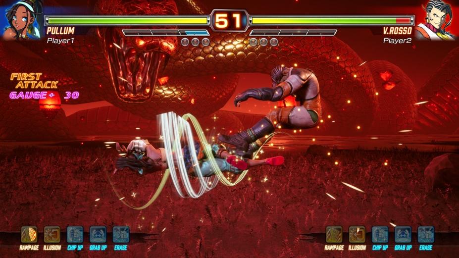 《格斗領域EX》游戲截圖2