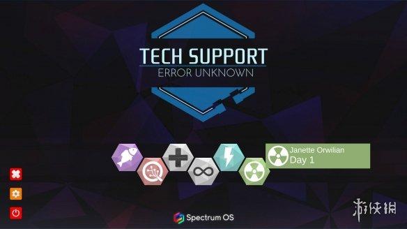 《技术支持:未知错误》游戏截图