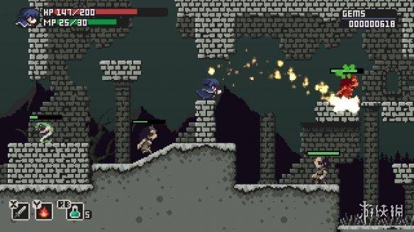 《钢剑故事》游戏截图