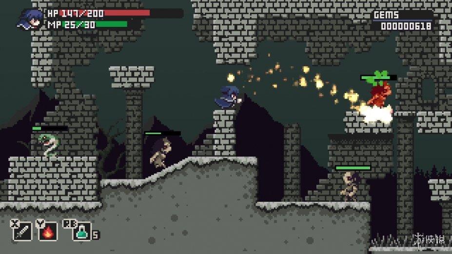 《钢剑故事》游戏截图(2)
