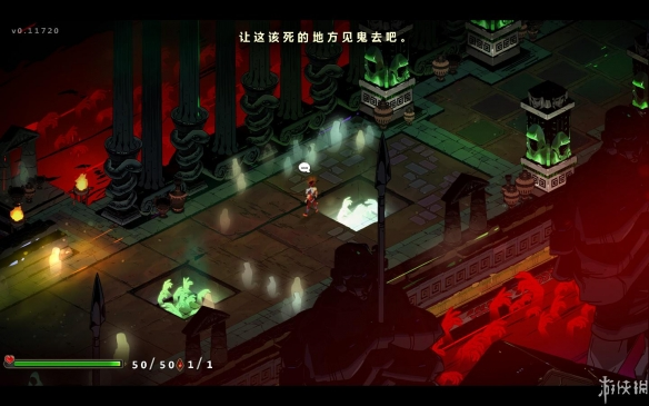 《哈迪斯:杀出地狱》汉化游戏截图