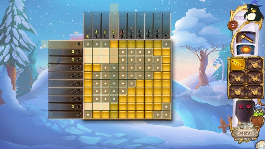 《幻想马赛克32:圣诞老人的小屋》游戏截图