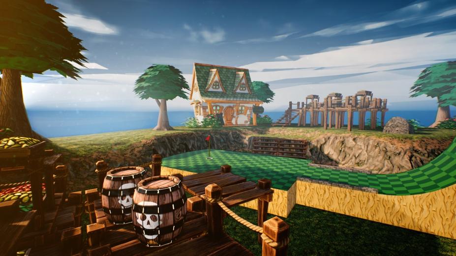 《酷逊高尔夫》游戏截图