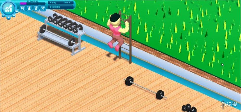 《健身帝国》游戏截图(1)