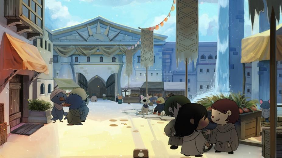 《奈里:希林之塔》游戏截图(1)