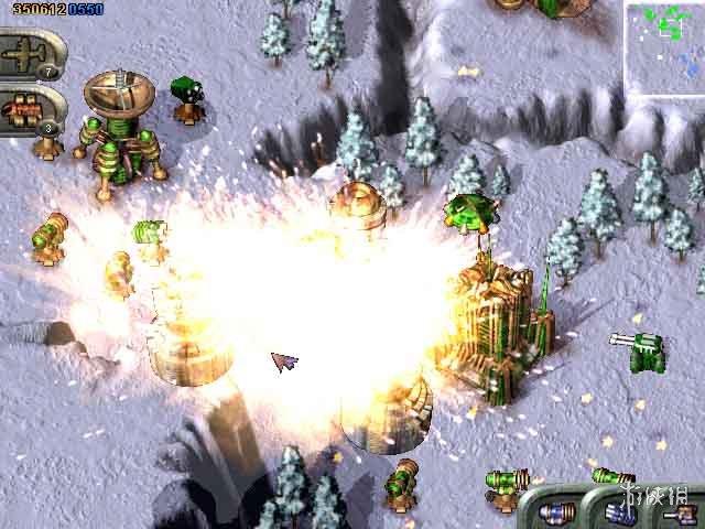 《蓝色警戒 (Classic 2000)》游戏截图