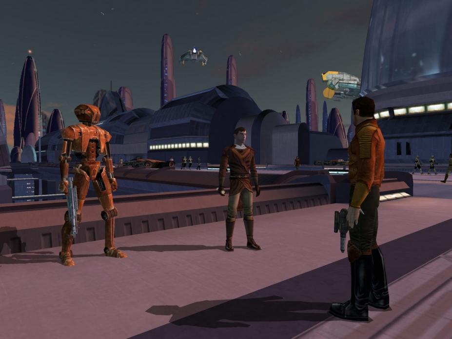 《星球大战之共和国武士》游戏截图