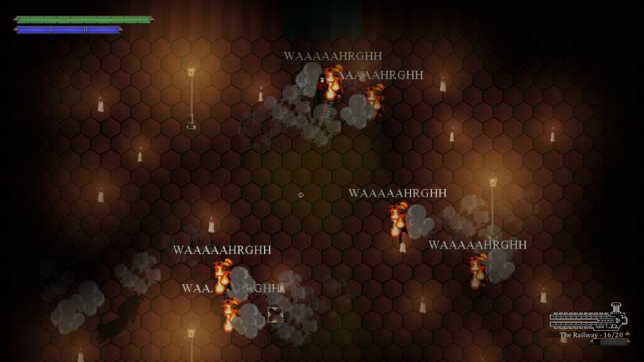 《Skautfold:进入战斗》游戏截图