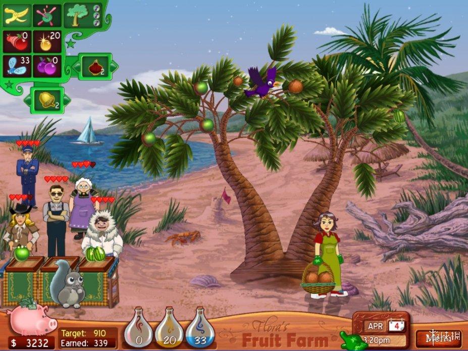 《弗洛拉果园》游戏截图