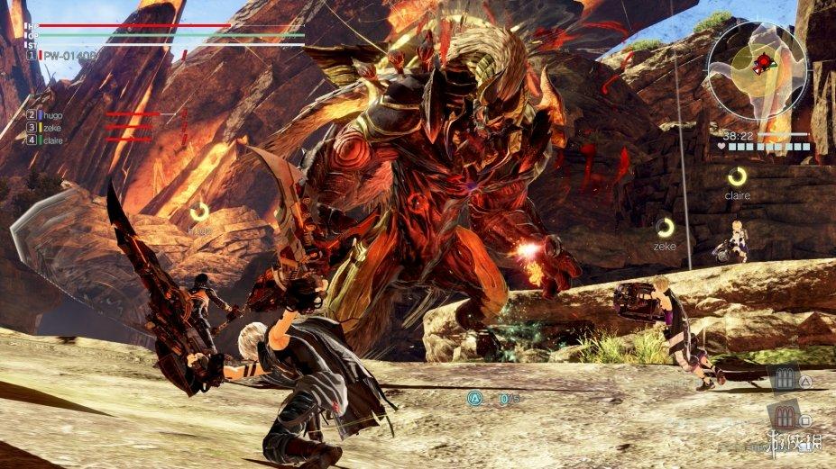 《噬神者3》游戏截图