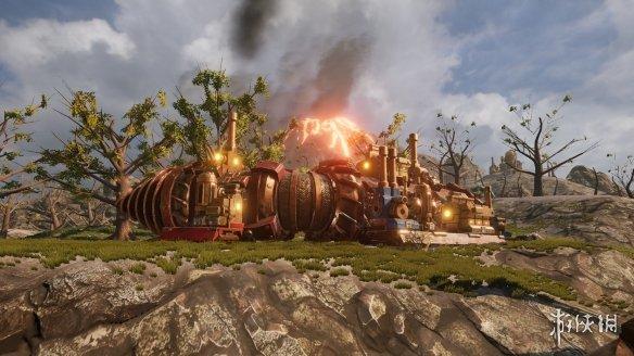 《火山》游戏截图
