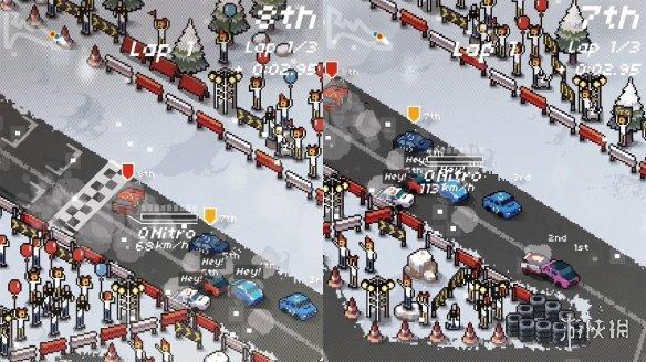 《超级像素赛车》游戏截图