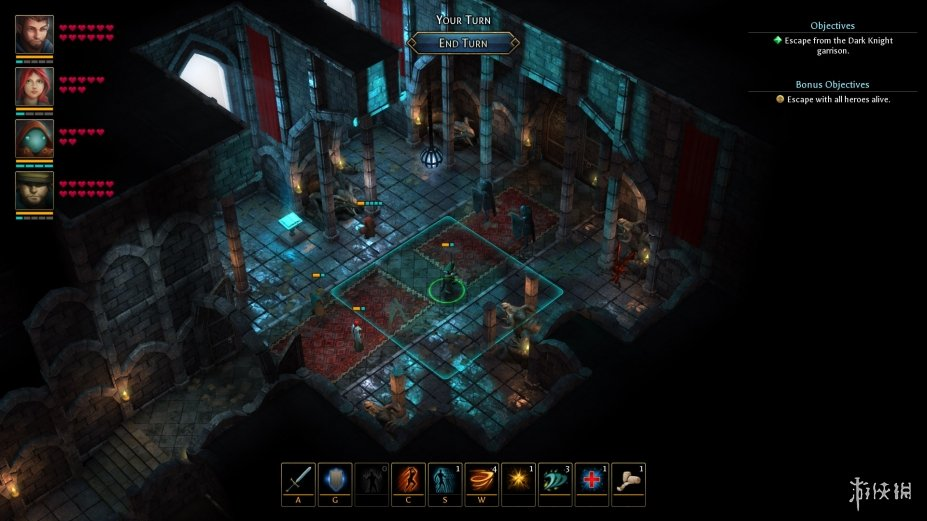 《德鲁伊之石:巨石林的秘密》游戏截图