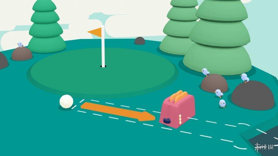 《高爾夫搞怪器》游戲截圖