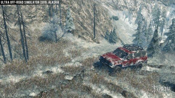 《越野车模拟器2019:阿拉斯加》游戏截图