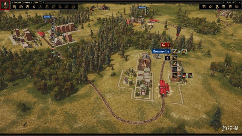 《铁路公司》游戏截图(1)