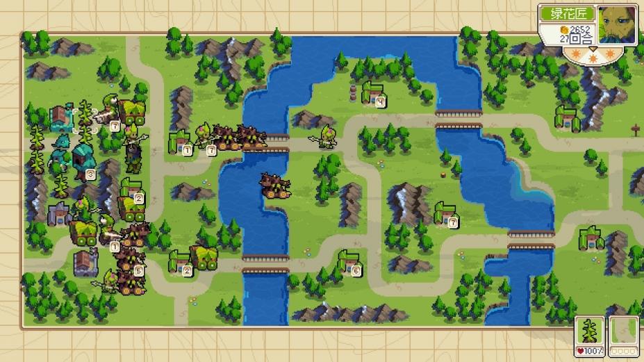 《战纹》WarGroove游戏截图-3(1)