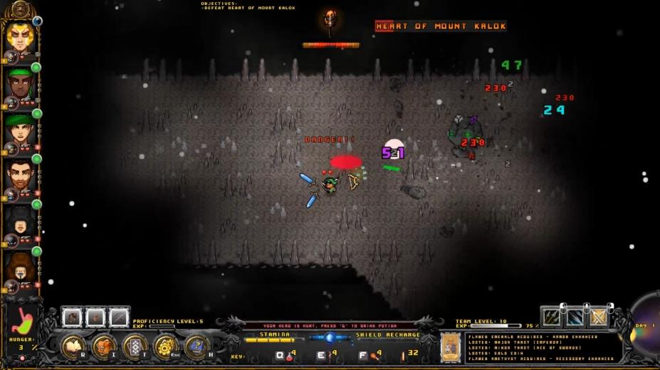 《最艰巨的地下城》游戏截图