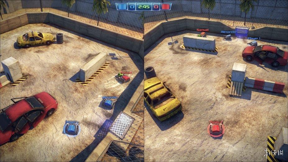 《机器人足球赛》游戏截图