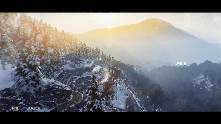 《世界汽車拉力錦標賽8》游戲截圖