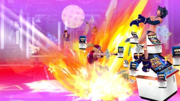 《SNK女主大乱斗》游戏截图