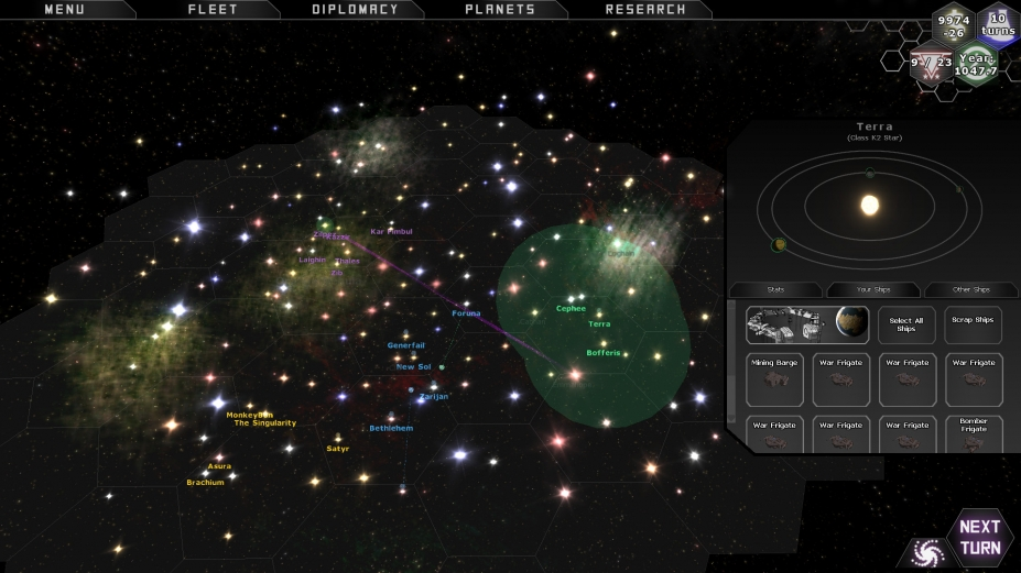 《星际预言》游戏截图(1)