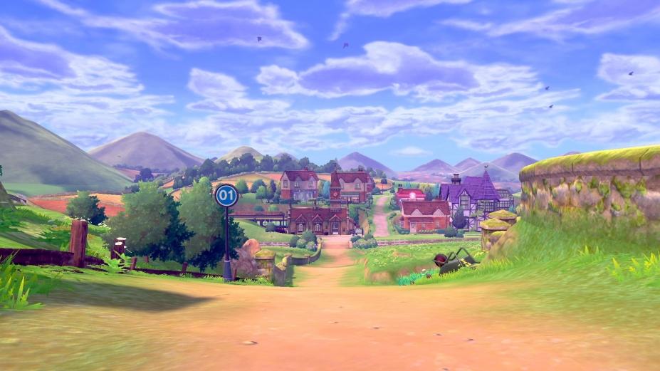 《宝可梦:剑/盾》游戏截图(1)