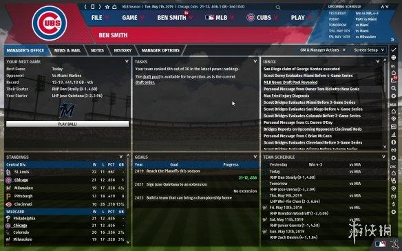 《劲爆美国棒球20》游戏截图