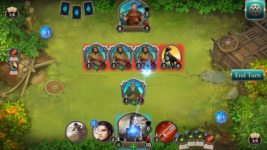《剑与魔法卡牌:魔潮》游戏截图