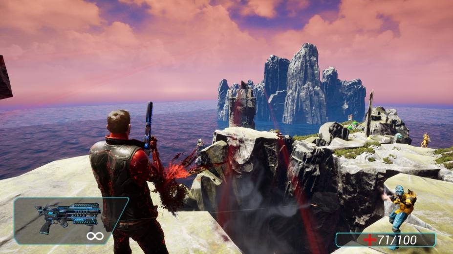 《机器人入侵射手3:救世主》游戏截图