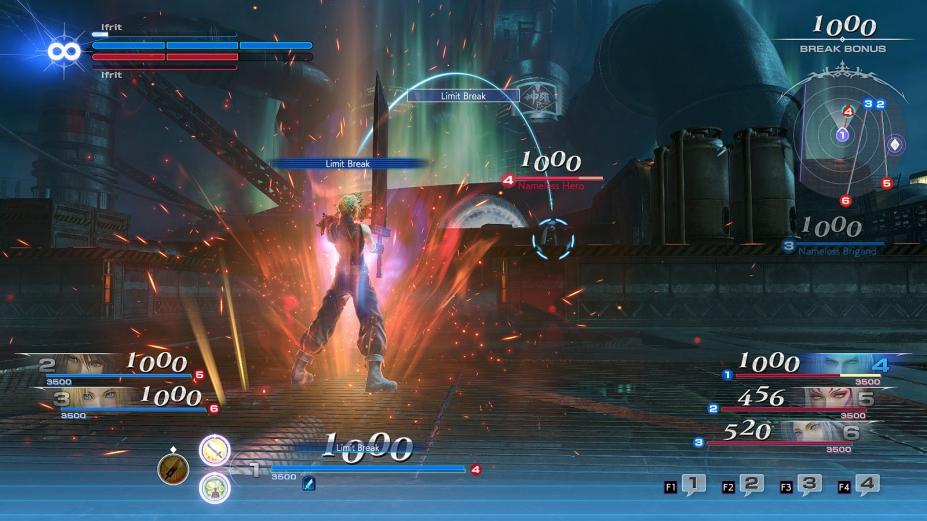 《最终幻想:纷争NT》游戏截图-3