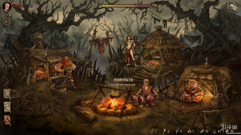 《灰烬之牌》游戏截图(1)