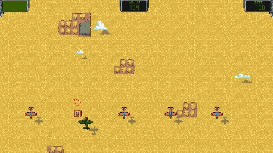 《空中威胁》游戏截图