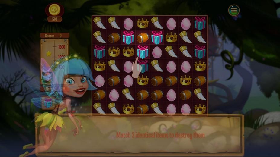 《梦幻岛宝藏》游戏截图