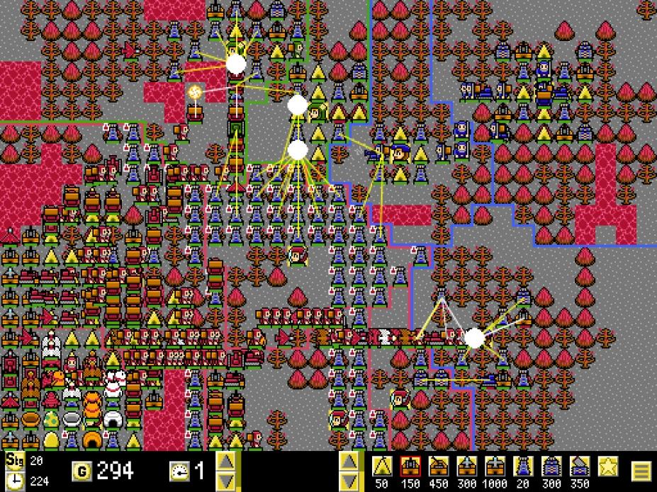 《高速迷你战争》游戏截图