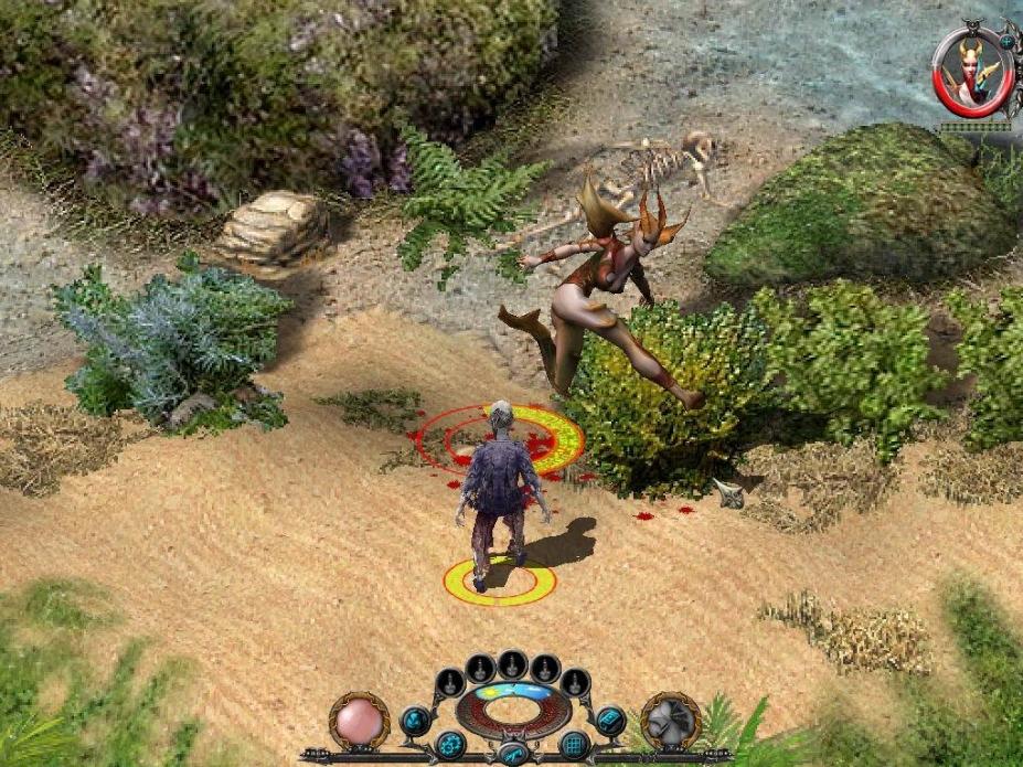 《圣域黄金版》游戏截图