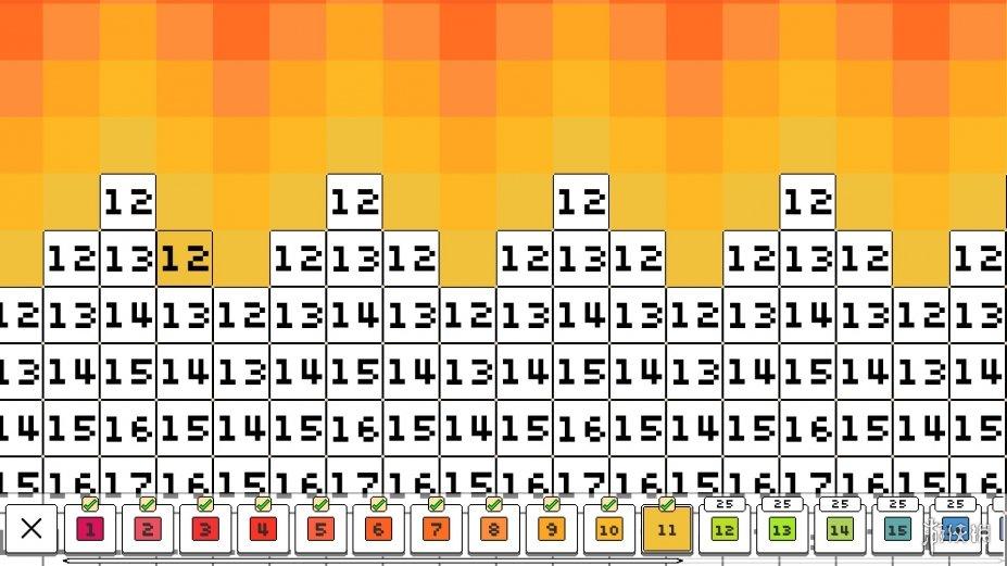 《着色像素》游戏截图