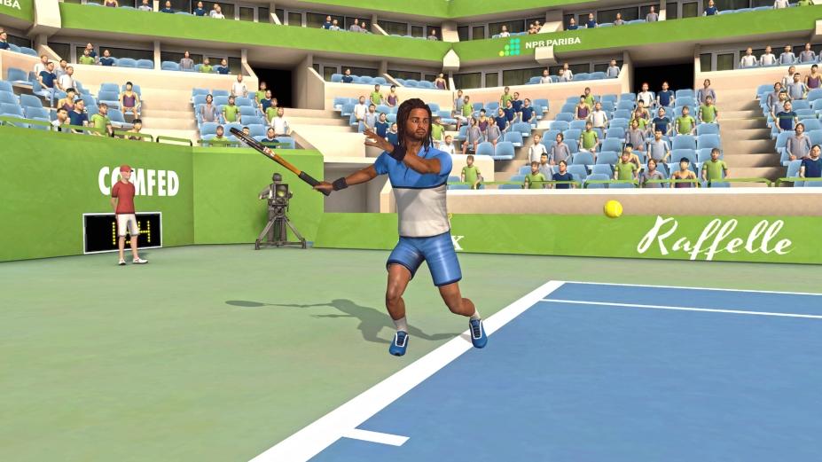 《第一人称网球:真实网球模拟》游戏截图