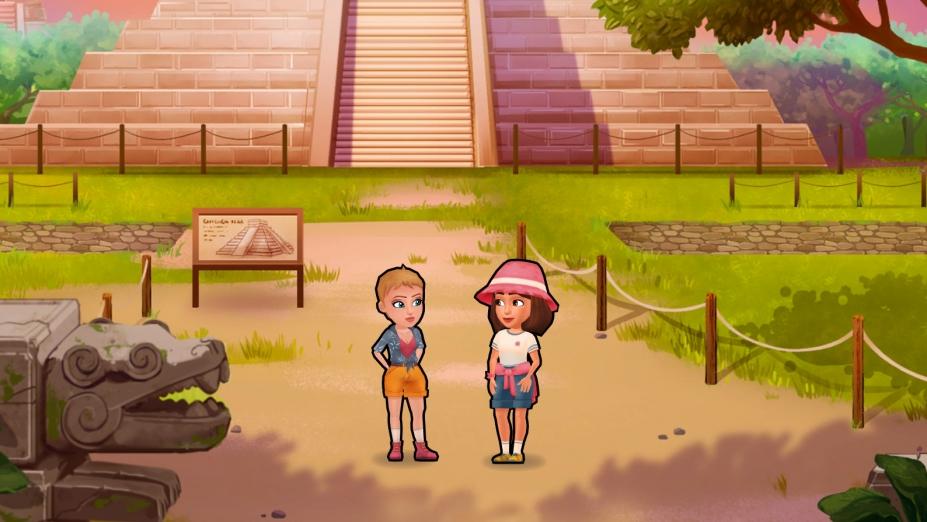 《安珀的空姐夢:七大奇跡》游戲截圖