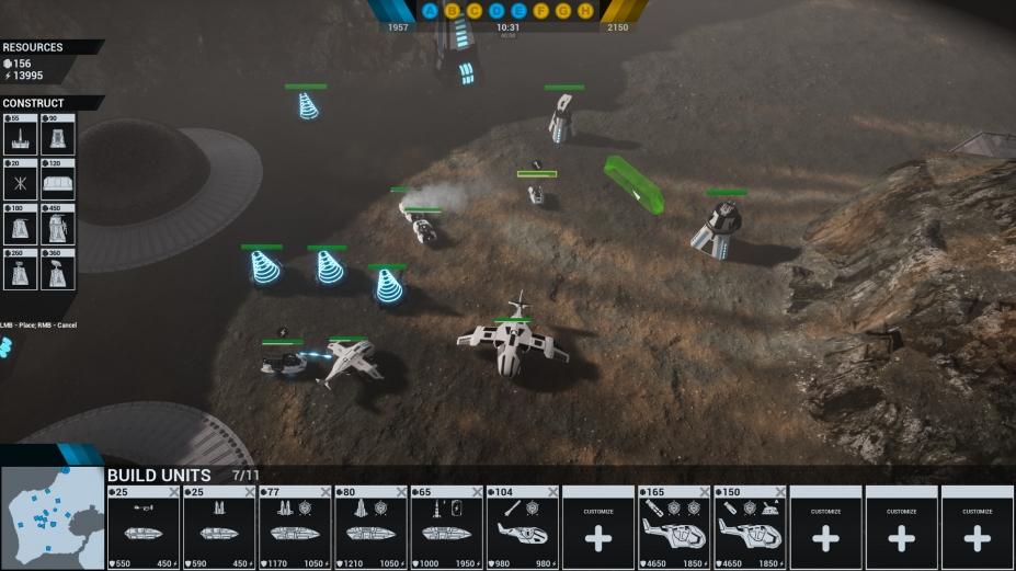 《铱战争》游戏截图