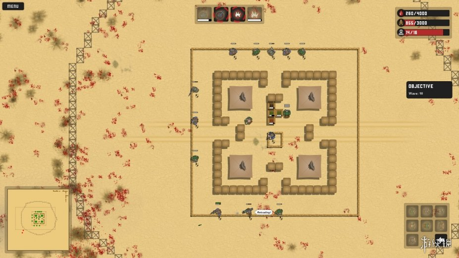 《火炮防御》游戏截图