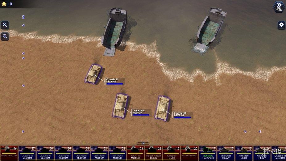 《战斗舰队:地面突击》游戏截图
