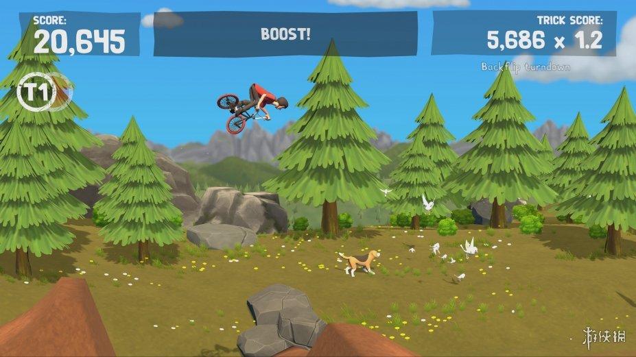 《小轮车冒险PRO》游戏截图